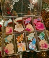Christmas Gift Box Soya wax melts Mix Creed Type